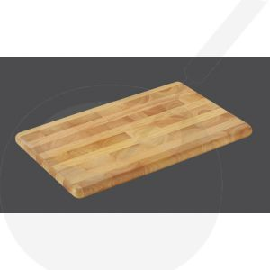 Chopping Board 45 x 30 x 2,5 cm, rubber wood