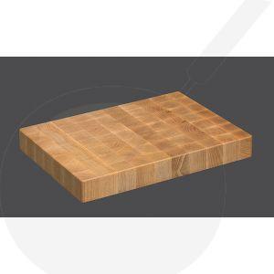 Chopping Block 39 x 26 x 4,5 cm, Beech wood