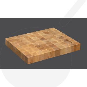 Chopping Block 45 x 30 x 4,5 cm, Beech wood