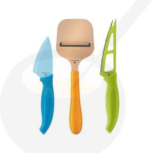 Cheese Knife set Easyset 3 piece
