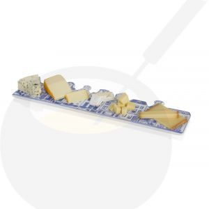 Cheese and chocolate board - Delft Blue