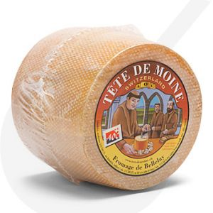 Tête de Moine Cheese - whole | +/- 850g - 1.87 lbs