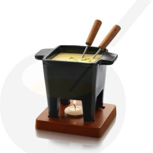Boska Tapas Chocolate Fondue set - Cheese fondue set black
