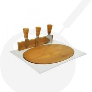 Cheeseboard Fromage | Magnetic Porcelain | 3 Cheese knifes