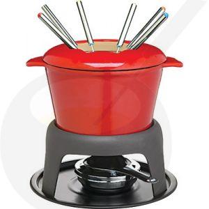 Fondue Red - Cast Iron   Masterclass