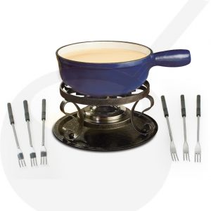 Swissmar Lugano Blue - Cheese fondue set