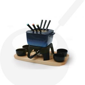 Fondue-set Mont Blanc Cast Iron Blue - Swissmar