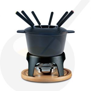 Fondue Pot Swissmar Sierra Cast Iron Black | Buy Online