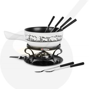 Swissmar Heidi - Cheese fondue set