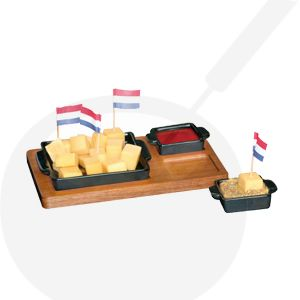 Tapas Cheese Cups Black