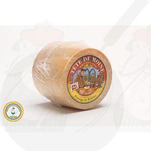 Tête de Moine - Whole Cheese   +/- 750g - 1.65 lbs