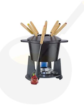Fondue set Grenoble - Black
